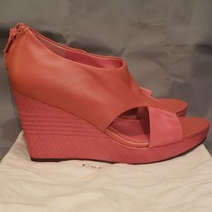 Cole Haan Air Donella Open Toe Wedge
